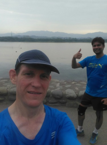 Gagan and me lake
